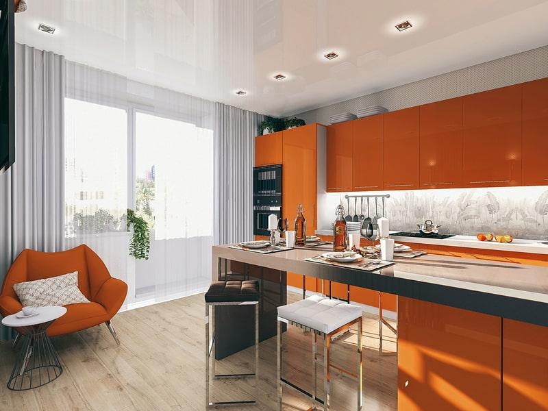 названия молекулярная какие шторы подойдут к оранжевой кухне фото две серии кукол