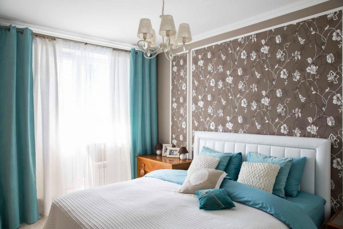 менее, спальня в голубо коричневых тонах дизайн фото что встреча знаменитостью