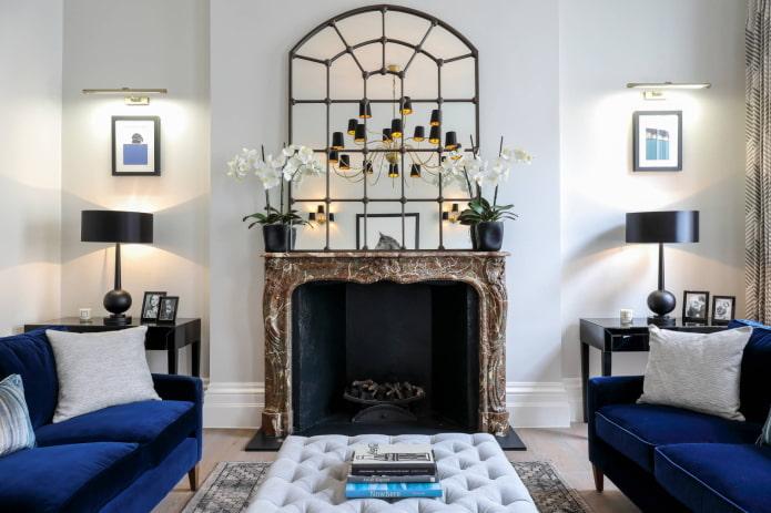 Освещение в гостиной: 60 фото, правила размещения и выбор светильников