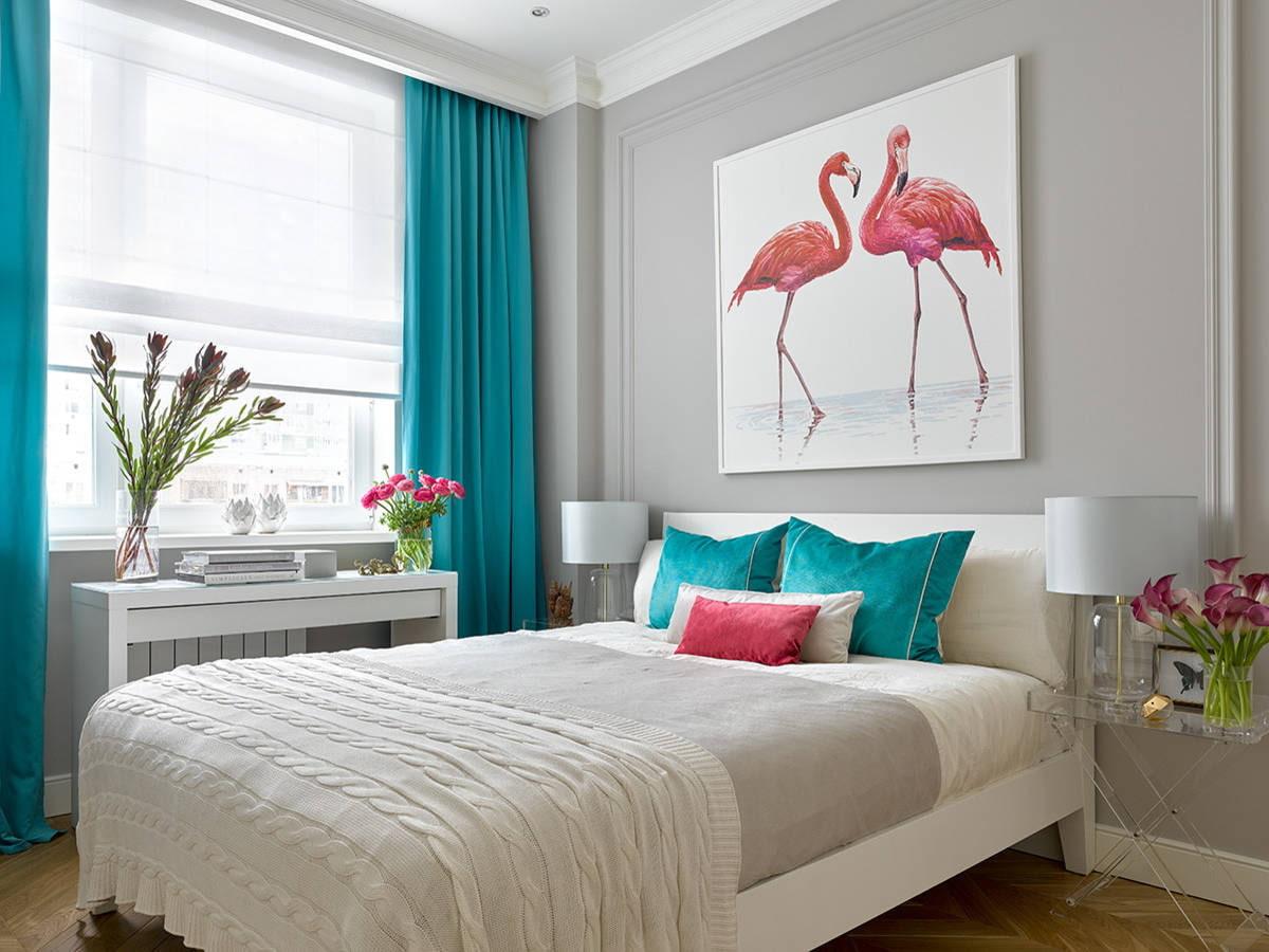 Как выбрать шторы в спальню? Советы, фото, цвет, ткани и дизайн.