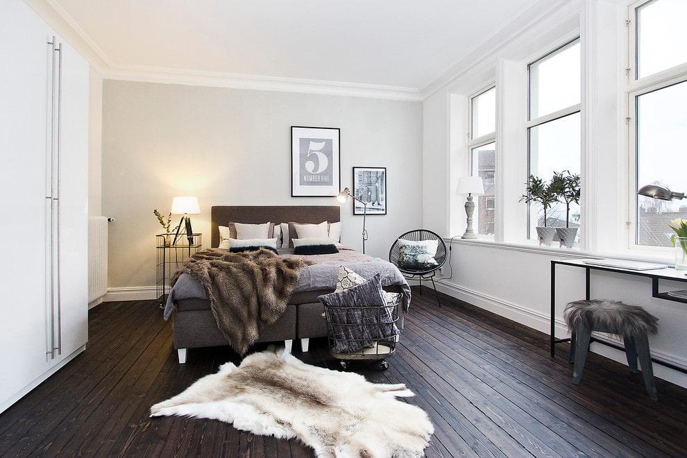 про коричневый пол фото дизайн квартиры вам