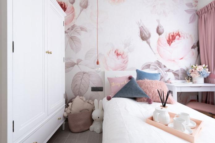 дизайн спальни в нордическом стиле