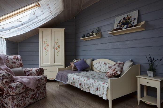 детская спальня в прованском стиле