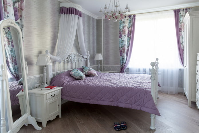 интерьер спальни в прованском стиле