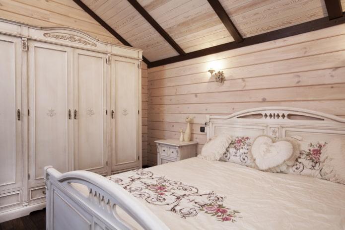 дизайн маленькой спальни в прованском стиле