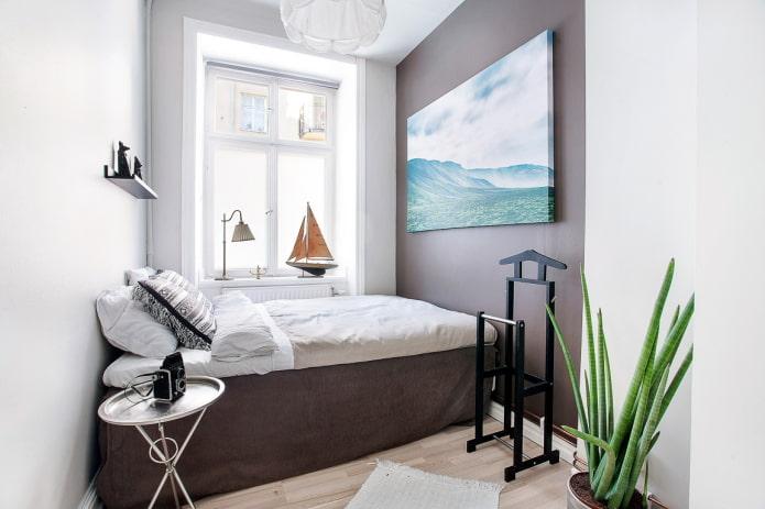 обустройство спальной комнаты в хрущевке