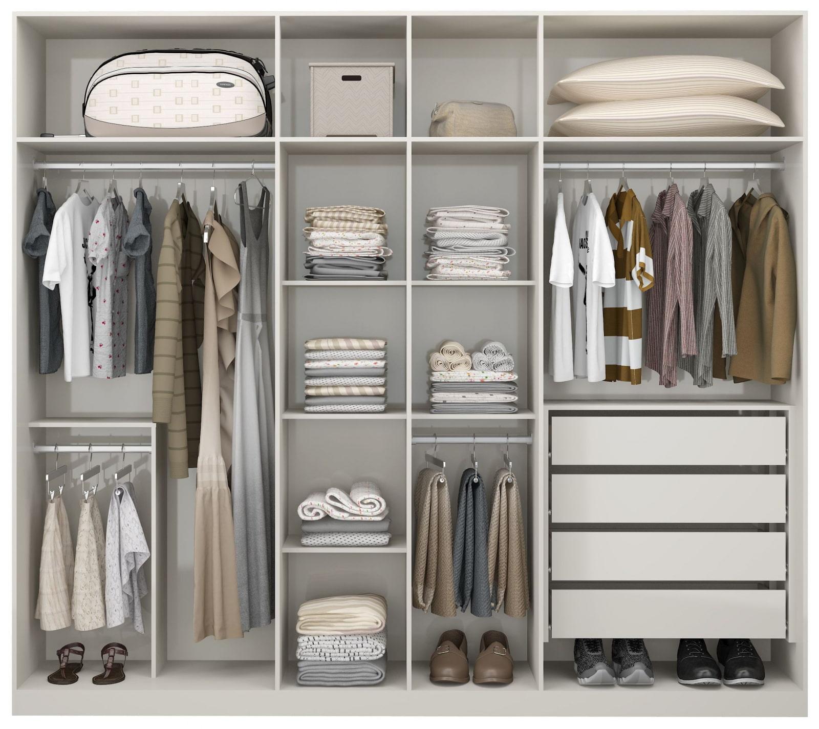 Как сделать шкаф купе внутри советы фото