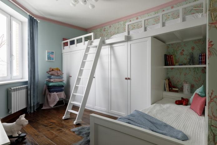 Детская комната для 2 разнополых детей: 55 фото, идеи дизайна