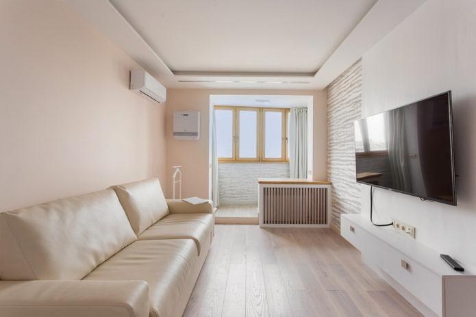 Дизайн маленькой гостиной: 55 фото в интерьере