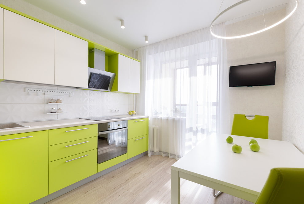 ванилин дизайн проекты кухни в зеленом цвете фото оттенки