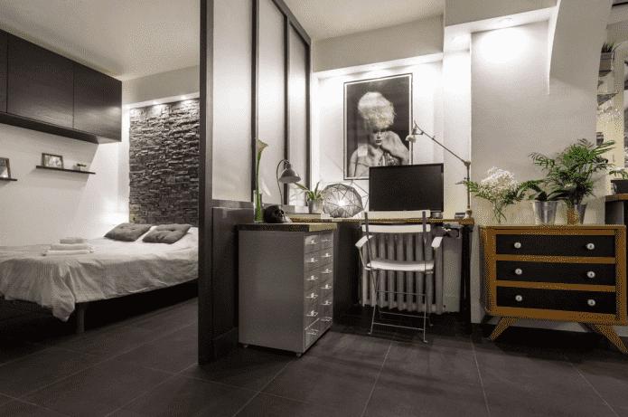 Зонирование комнаты: 60 фото, лучшие идеи и способы