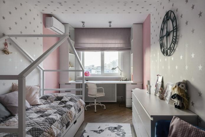 детская спальная комната 9 квадратов