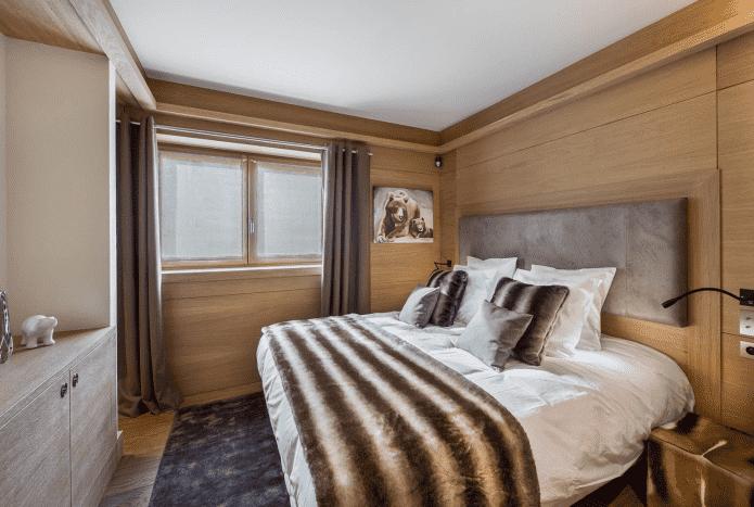 мужская спальная комната 9 квадратов