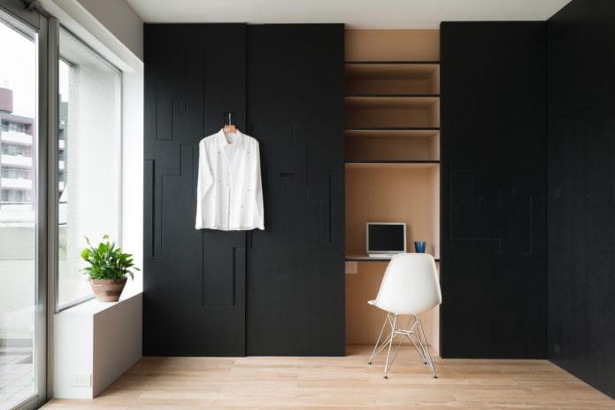 Шкаф с рабочим местом
