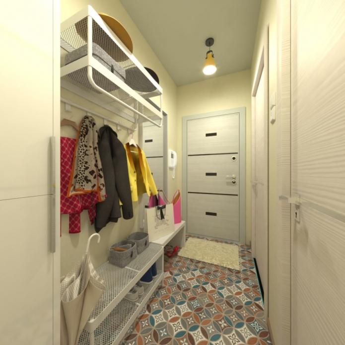оформление коридора в квартире хрущевке
