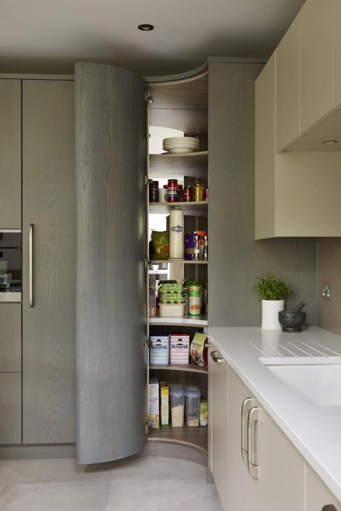 Кладовка в квартире: 64 фото дизайна маленькой площади