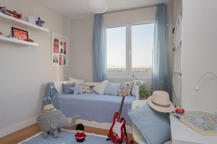 Детская комната 10 кв. м. ТОП 50 фото, идеи дизайна