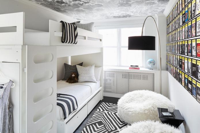 Детская комната 9 кв м: примеры дизайна 43 фото