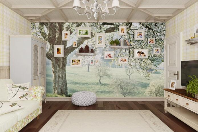 Фотообои на стену в зал 82 фото идеи дизайна в интерьере гостиной и за диваном