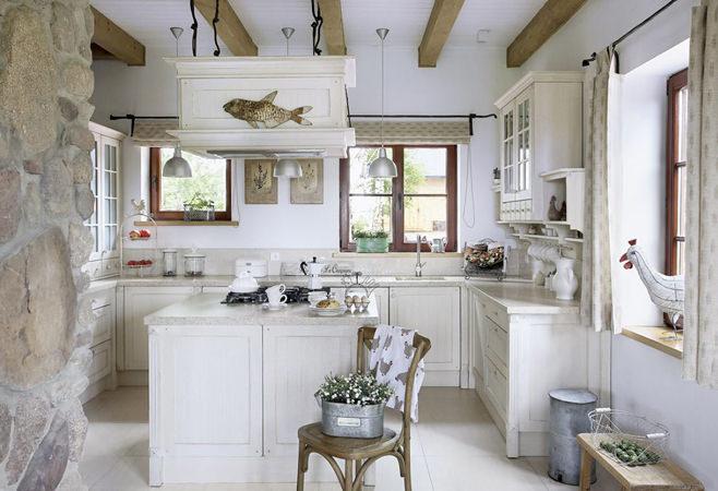 Стиль прованс в интерьере кухни своими руками
