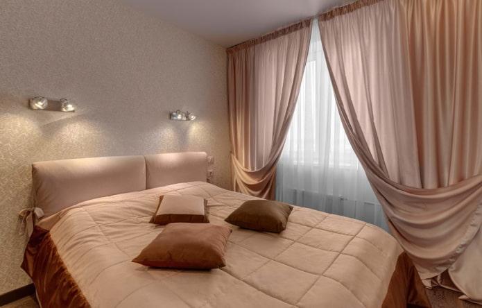 освещение в спальной комнате в хрущевке