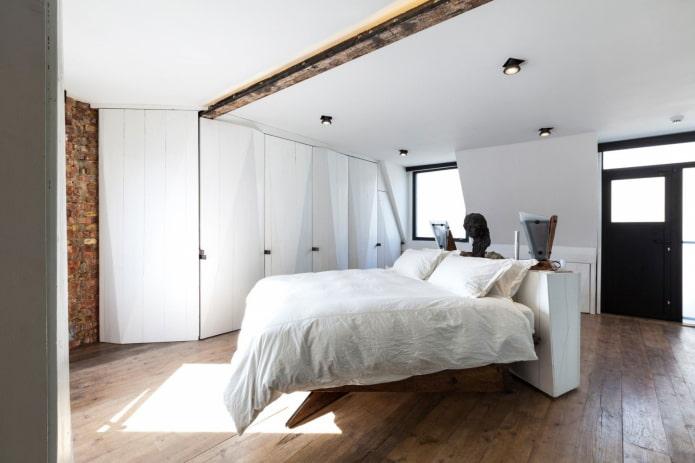 споты в дизайне спальни
