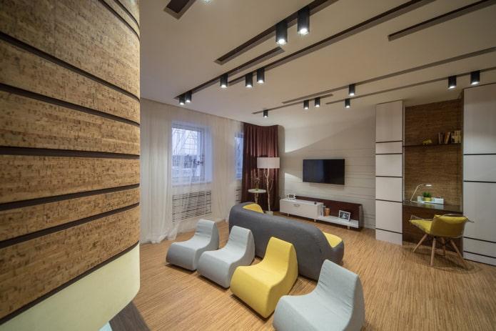 споты в дизайне помещения