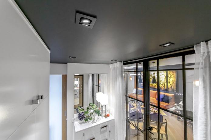 встраиваемые споты в дизайне помещения
