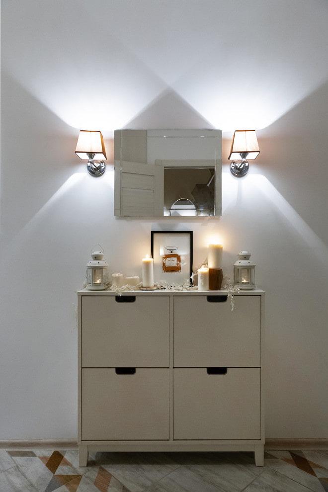 Освещение в прихожей и коридоре: 55 фото, советы по выбору