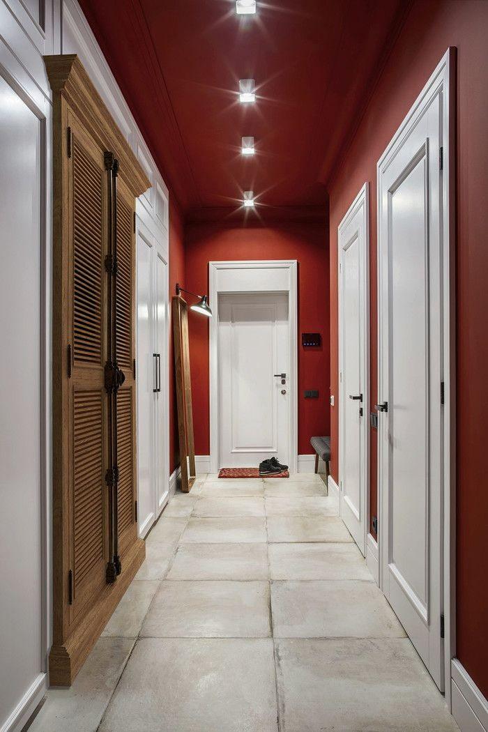 втором коридор красный фото выбирая широкоформатные обои