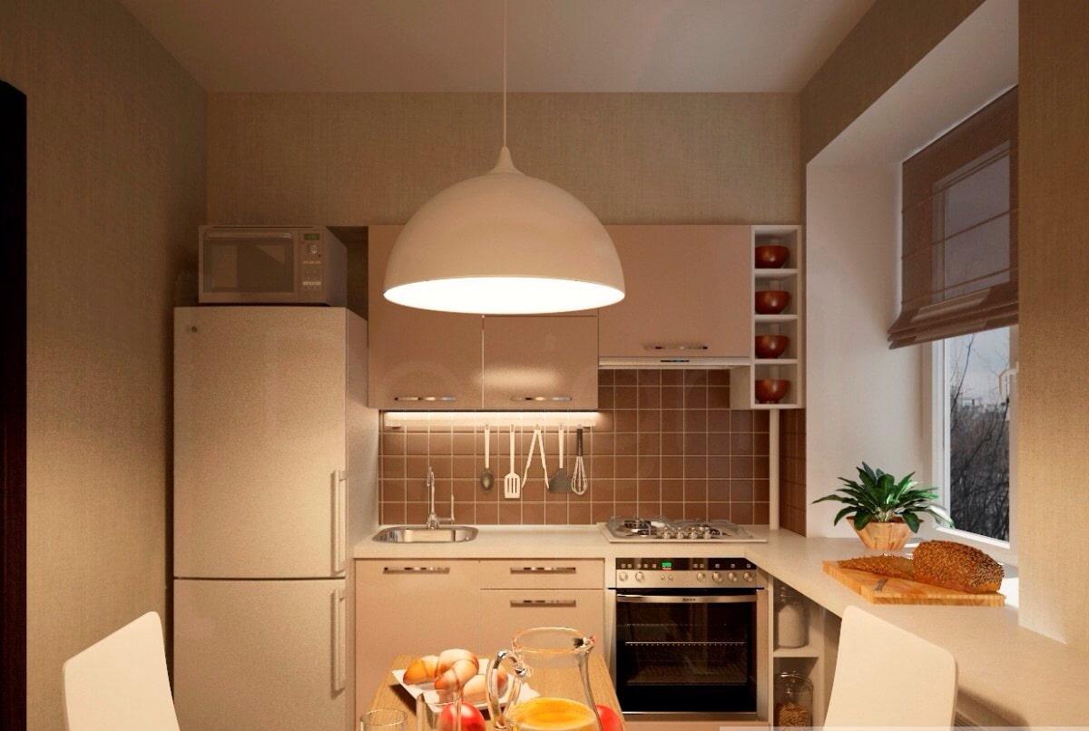 часто требуется кухня на пять квадратов дизайн фото каталога