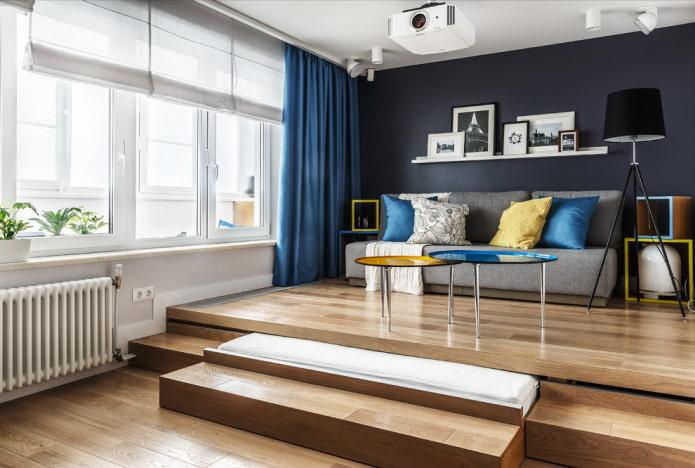 Кровать-подиум: 45 стильных фото и идей дизайна
