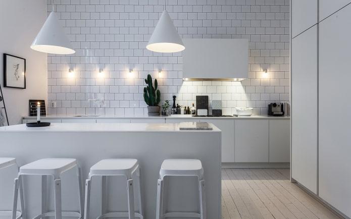 настенные кухонные светильники