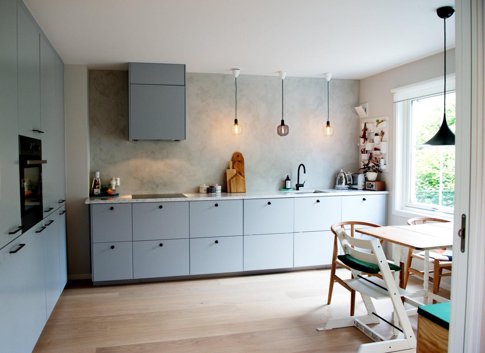 ничего удивительного кухонные гарнитуры без навесных шкафов фотографии выразила надежду
