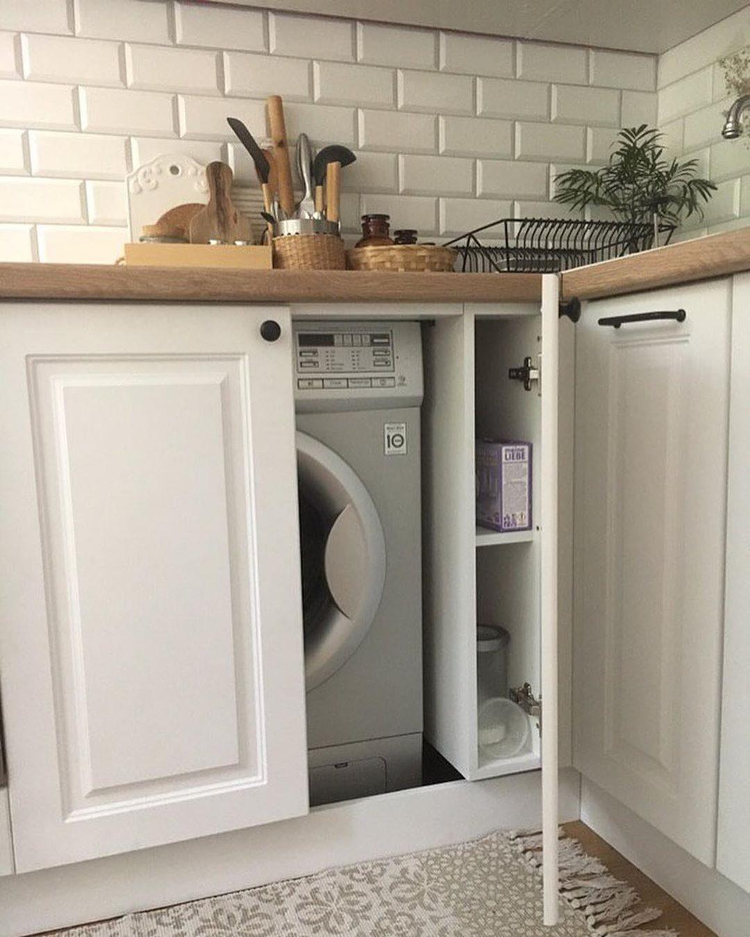 широкий модуль для стиральной