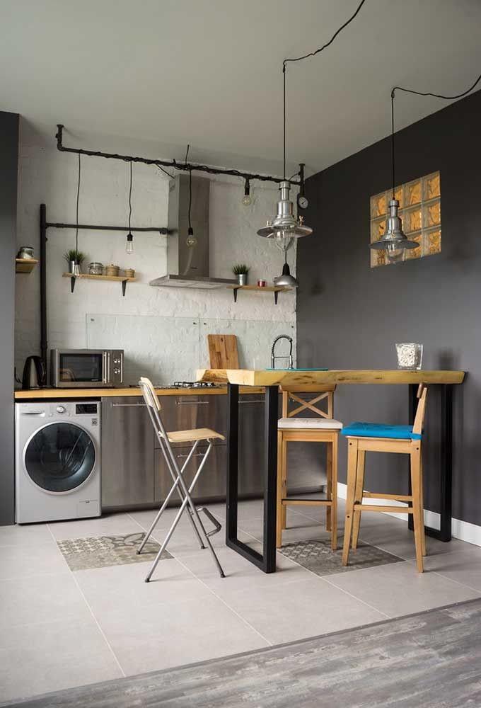 стиральная машина лофт