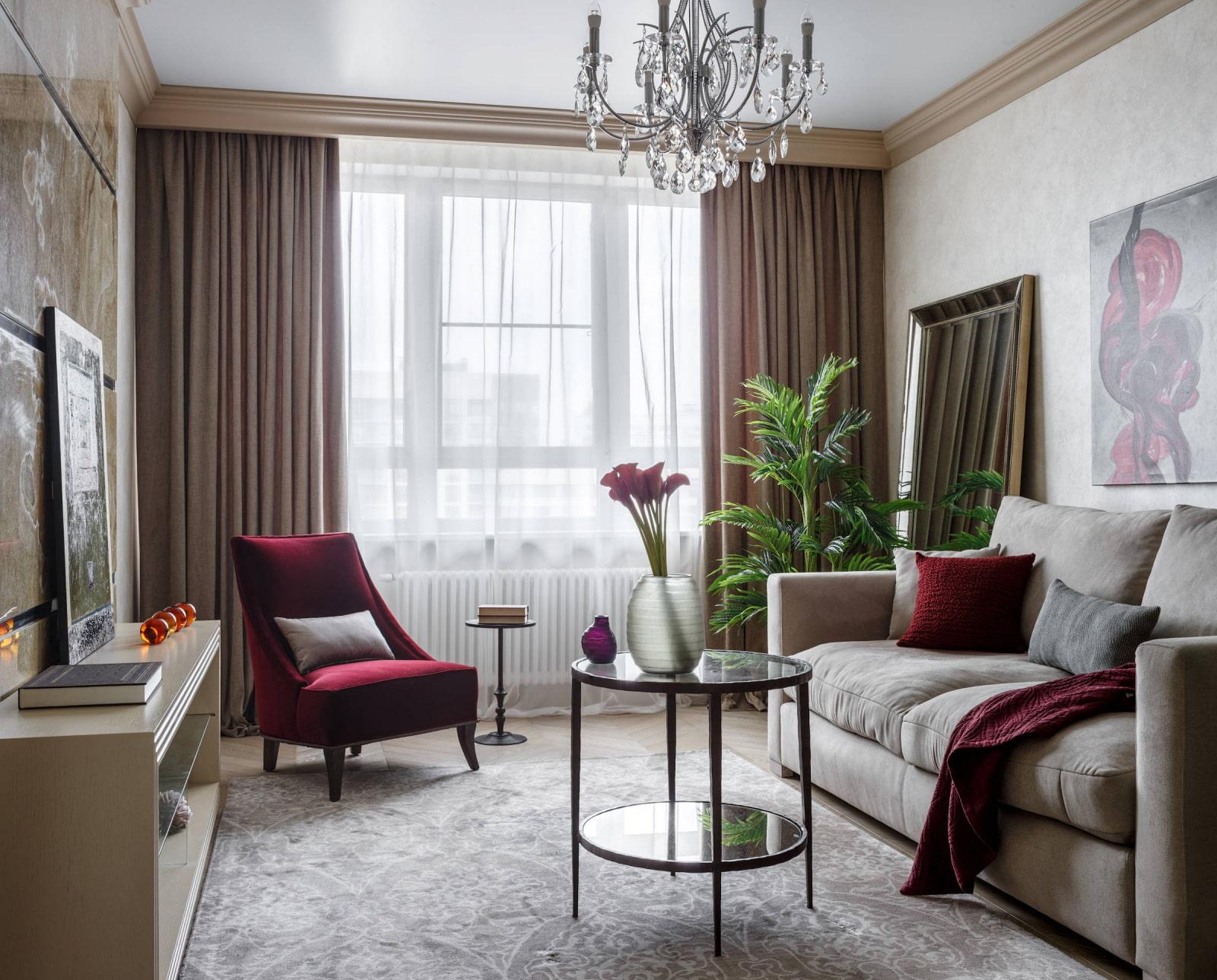 Расстановка мебели в гостиной: правила и варианты