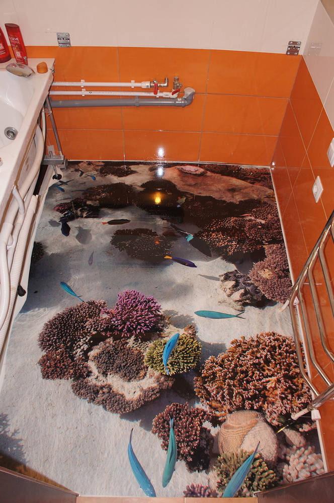 пол подводный мир