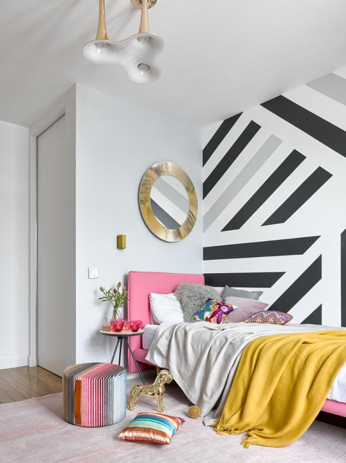 Акцентная стена: 46 фото, идеи для гостиной, спальни и кухни
