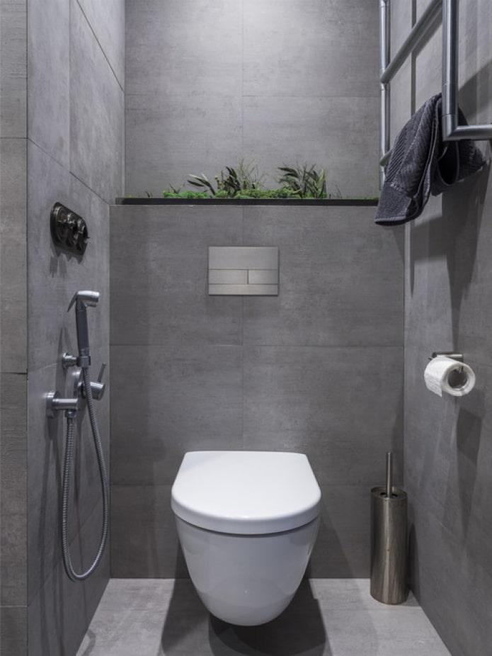 Туалет серый бетон купить бетон w12