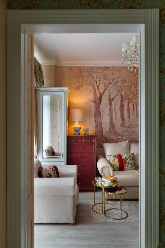 Роспись стен в интерьере: 45 фото, уникальные идеи дизайна