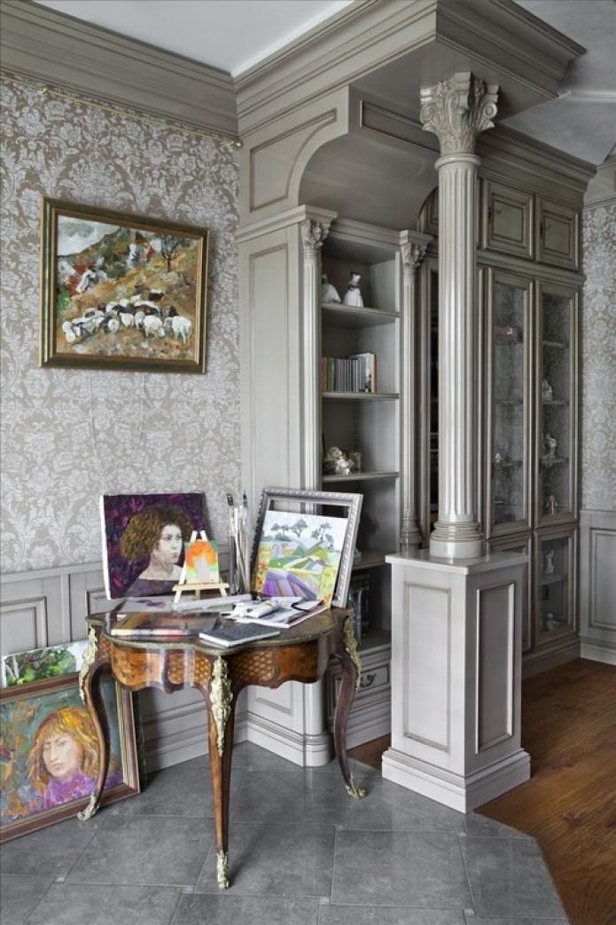 мебель с лепниной