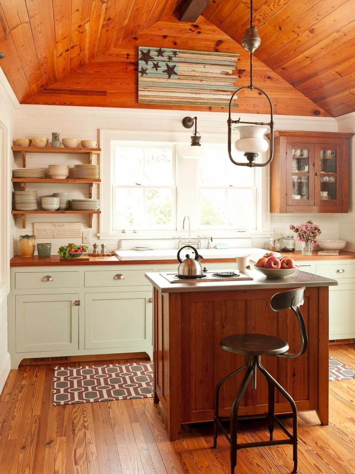 кухонный гарнитур для дачи