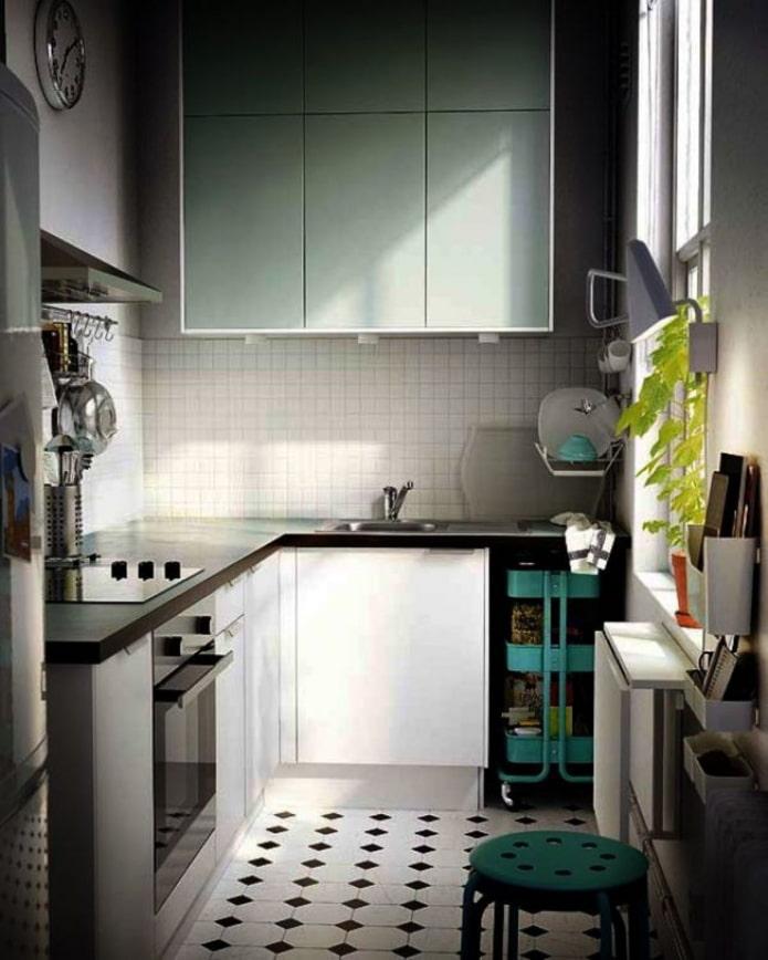 матовая современная кухня