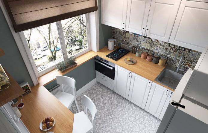 маленькая сканди кухня