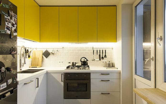 белая краска для кухни