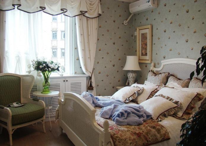 ретро-дизайн спальни