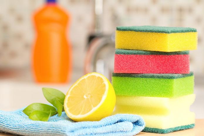 Лимон для уборки кухни