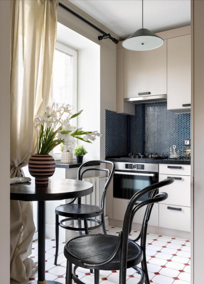 Хранение в маленькой кухне