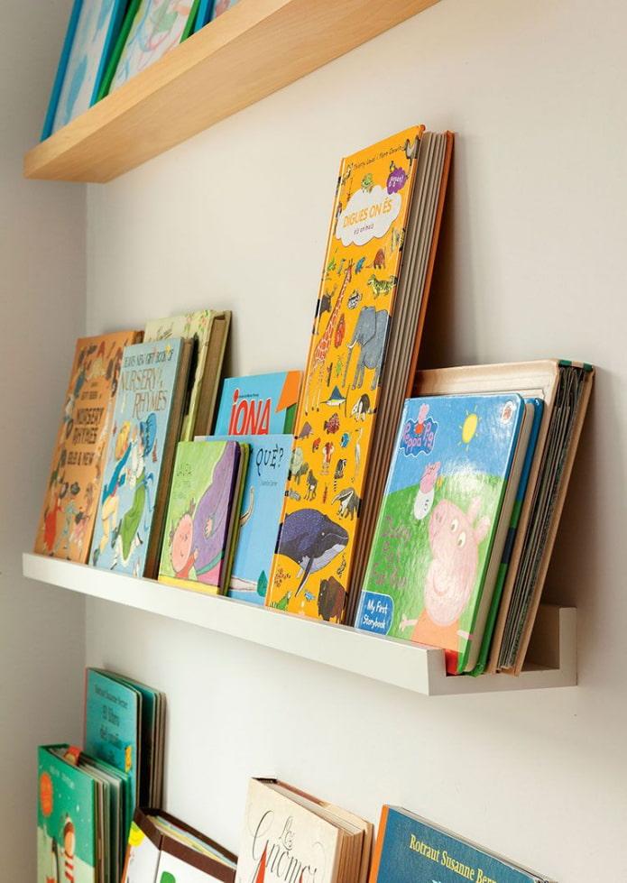 Хранение книг в десткой